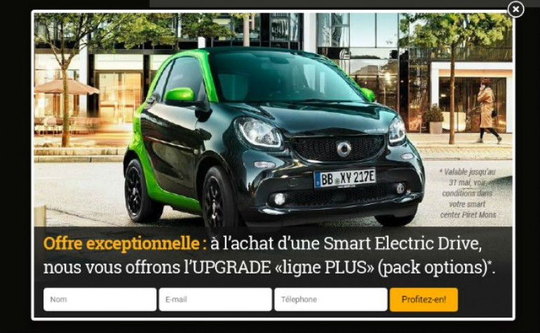 action smart upgtade offert ok