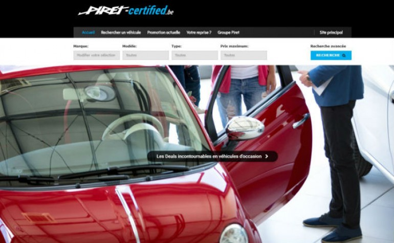 site piret certified vehicule occasion